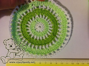 crochet boys hat pattern - step#5