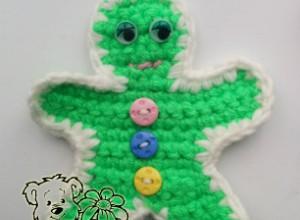 Funny Crochet Gingerbread Man Pattern