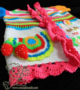 crochet rainbow cardigan pattern for babies