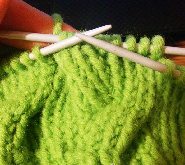 how to knit cable