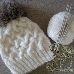 cable knit hat tutorial