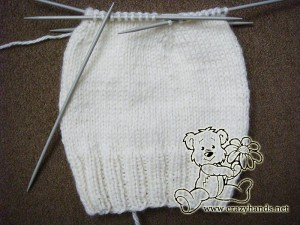 Rounds of decrease for chidren's knit hat