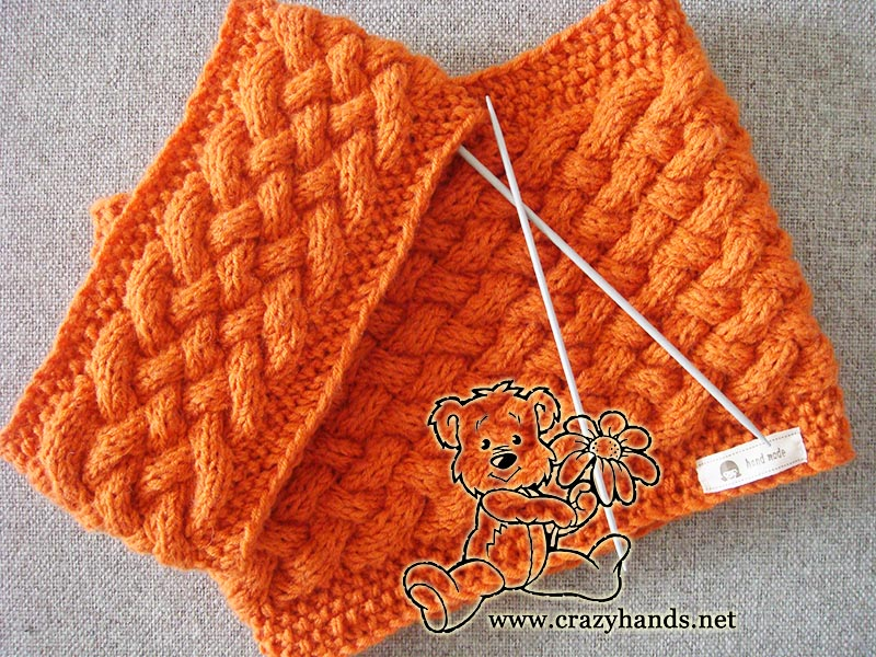 Knit Cowl Pattern & Knit Headband Pattern · Crazy Hands Knitting