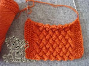 half knit cowl