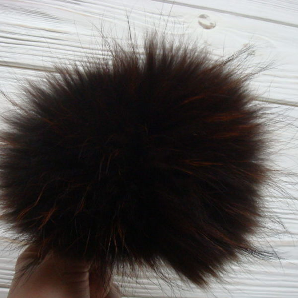 DISCOUNT!!! Brown  pom pom
