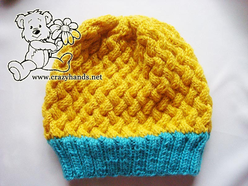 Simple Knit Hat Pattern Swedish Styled Set Crazy Hands Knitting