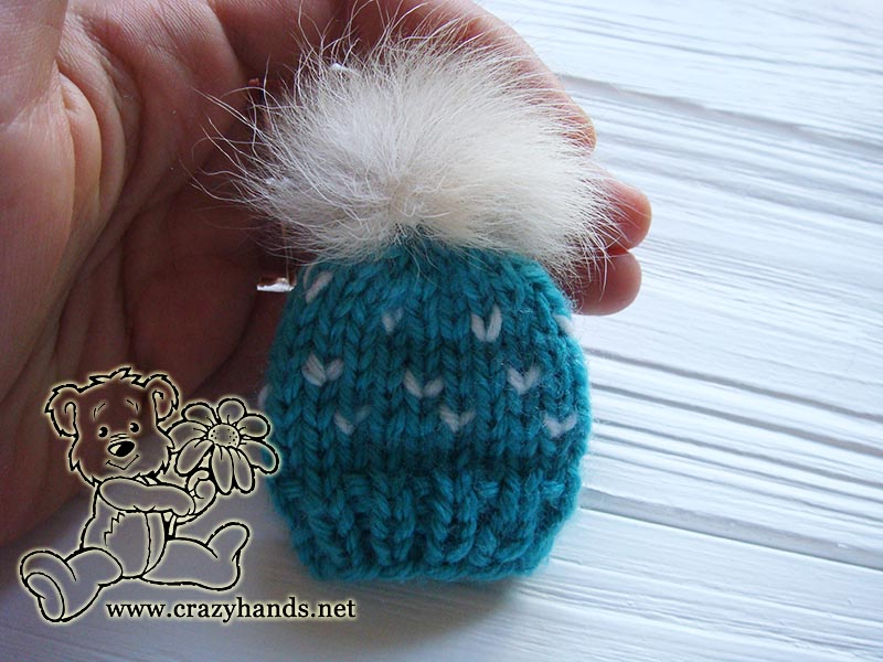 Mini Hat Knit Pattern