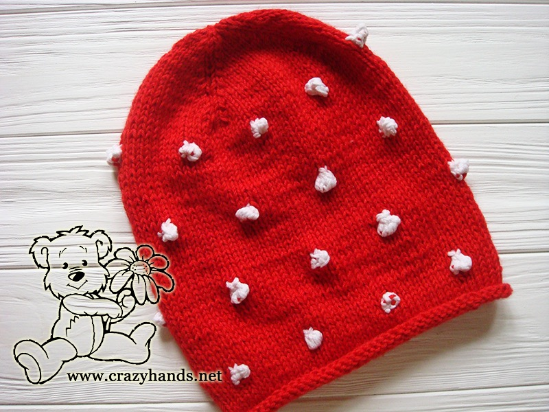 Fabulous Santa Hat Knitting Pattern