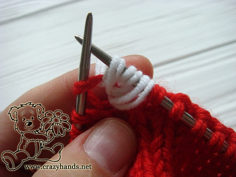 Fabulous Santa Hat Knitting Pattern · Crazy Hands Knitting