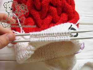 santa-cable-knit-hat-baby-earflapes-step-8