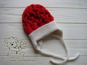 santa-cable-knit-hat-baby-with-earflaps