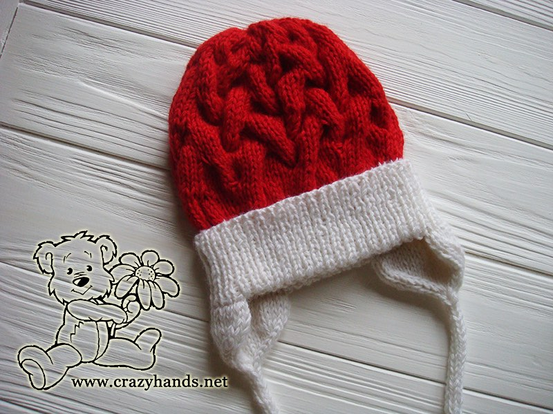 santa-cable-knit-hat-baby-earflaps-winter