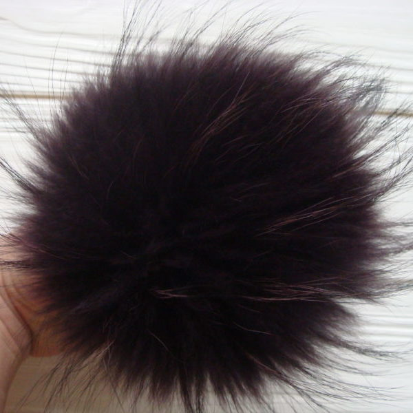 Dark Purple pom pom