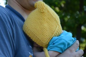 three-months-old-baby-in-knit-bonnet-photo-3