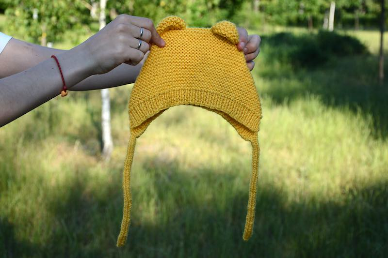 baby-bear-knit-bonnet-photo