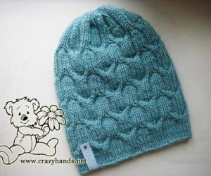 Emerald Liffey Knit Cable Hat for Men · Crazy Hands Knitting fe20fb385a9