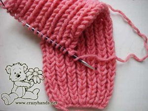 Fishermans Rib Stitch Pattern