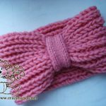 Mock Fishermans Rib Headband