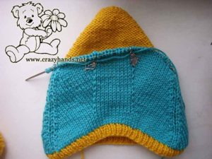 inner knit hat pixie style