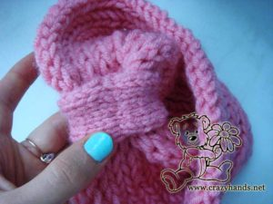 sewing together headband ends