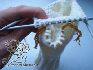 Snow Queen Cable Knit Mittens