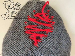 Baby Red Heart Beanie Pattern